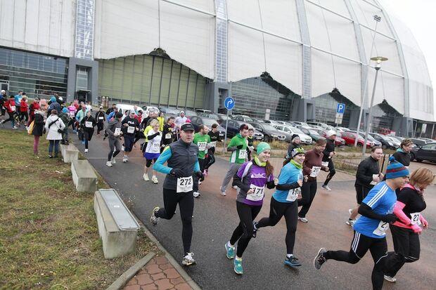 Lauf in die Tropen Krausnick Halle 2013