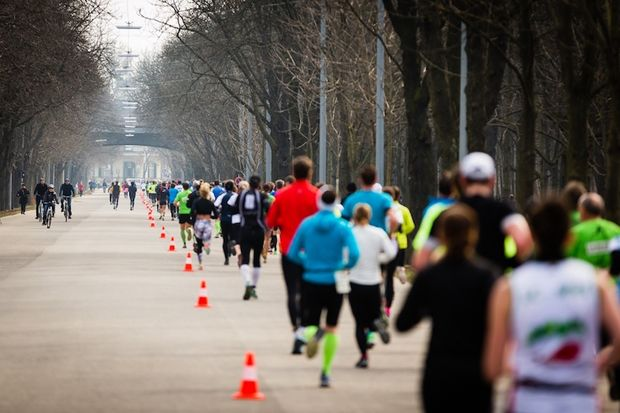 Laufen hilft Wien Prater Hauptallee