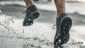 Laufen im Regen