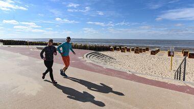Laufen in Cuxhaven