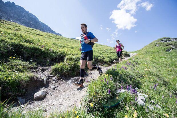 Laufen in der zauberhaften Bergwelt um Arosa.