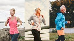 Laufen in verschiedenen Altersstufen