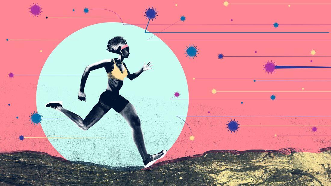 Laufen und Immunsystem