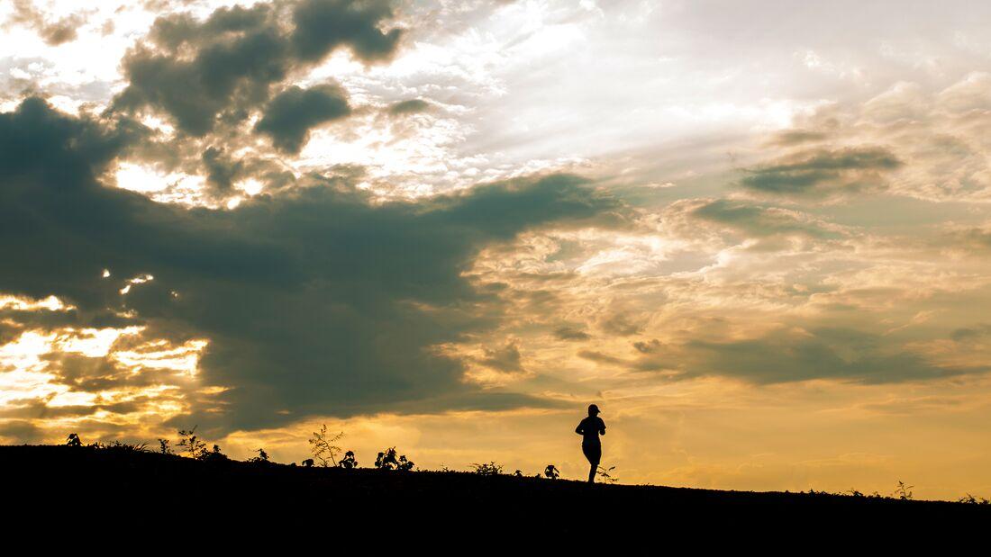 Laufen zur Entspannung