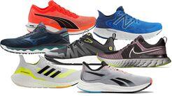 Laufschuhe für Vorfußläufer, Mittelfußläufer und Supinierer