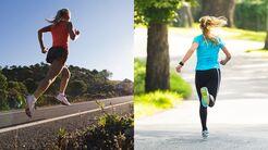Lauftechnik: richtig bergauf und bergab laufen