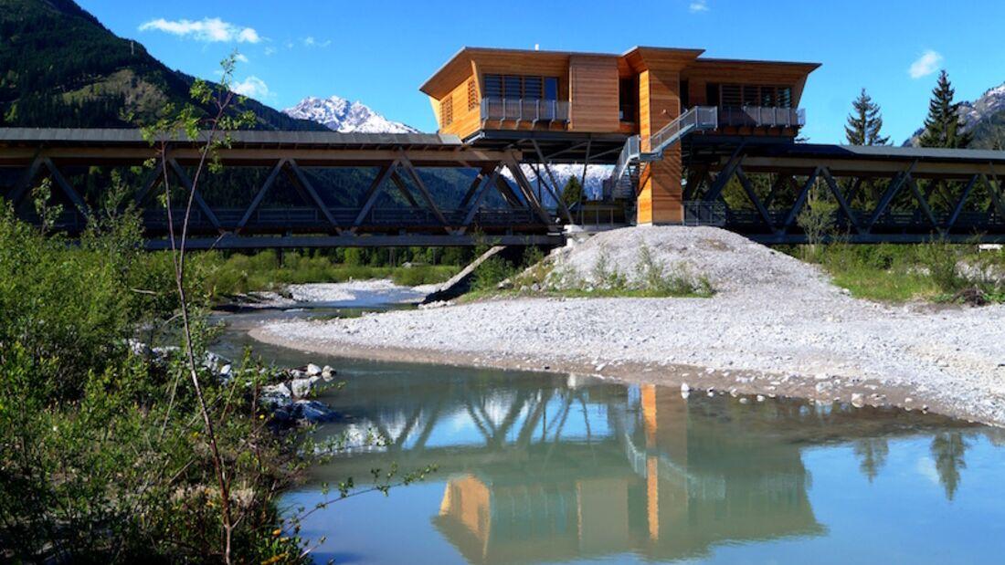 Lechtaler Naturparklauf 2016 Naturparkhaus