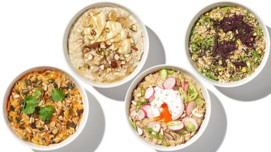 Leckere Porridge-Rezepte