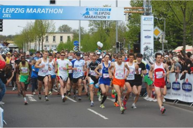 leipzig marathon strecke