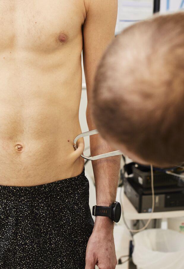 Leistungsdiagnostik Körperfettmessung