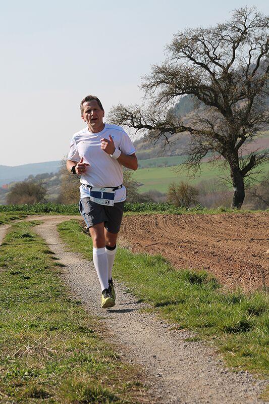 Leserreporter Tom Klossek beim Saaletal-Marathon 2014 in Ramsthal