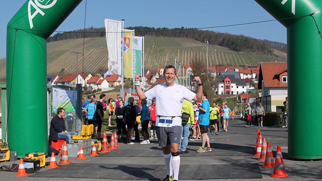 Leserreporter Tom Klossek ist begeistert vom Saaletal-Marathon 2014 in Ramsthal