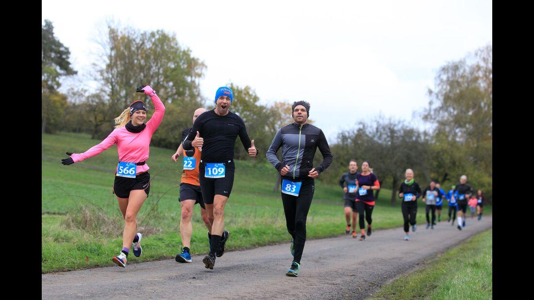 Limes-Winterlaufserie Pohlheim 2019 1. Lauf