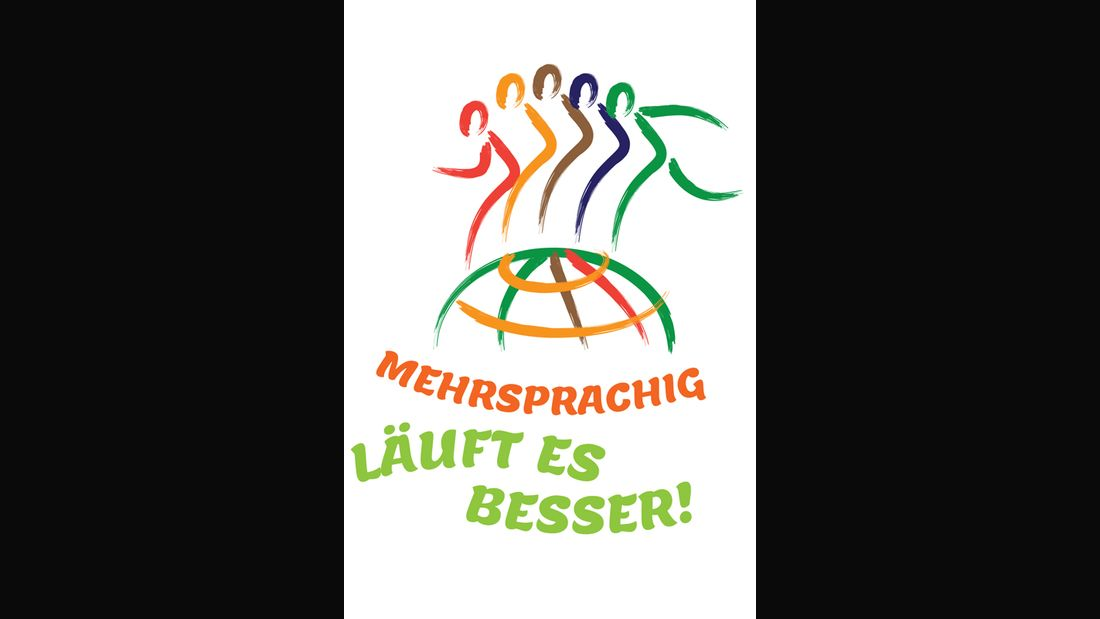 Logo Lauf für Mehrsprachigkeit Frankfurt