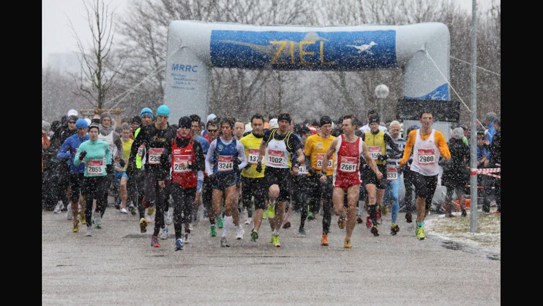 MRRC-Silvesterlauf München Start 2011