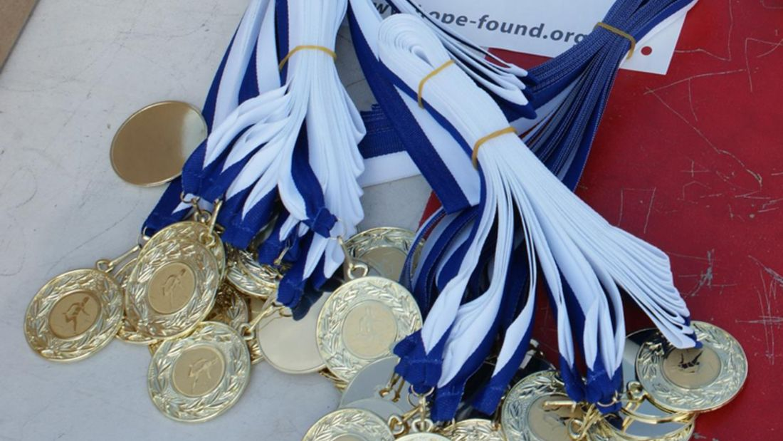 Malarathon Medaillen