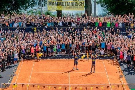 Mammutmarsch Start 2018 in Berlin