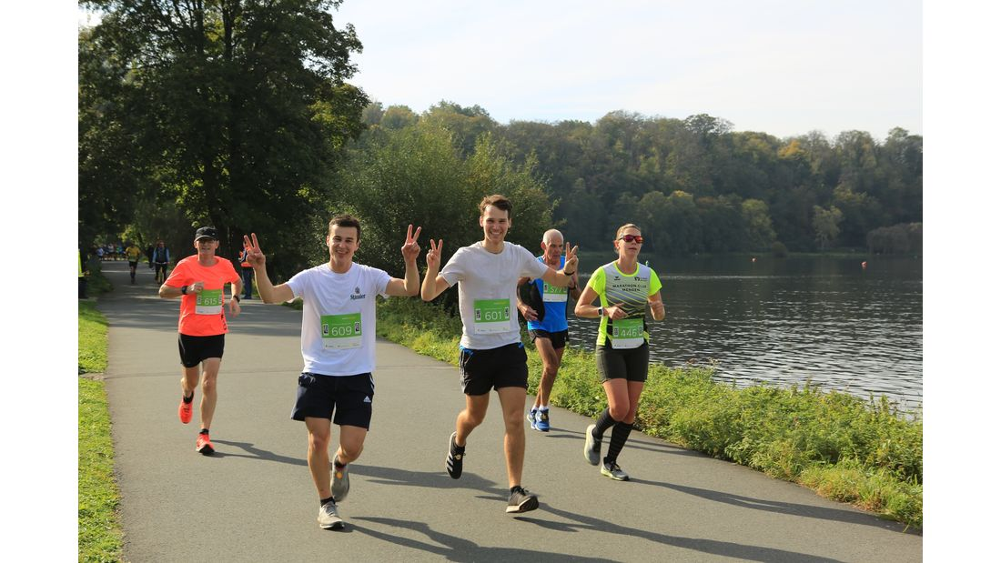 Marathon Essen Rund um den Baldeneysee 2021