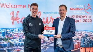 Marathon: Hamburg Marathon 2020 PK