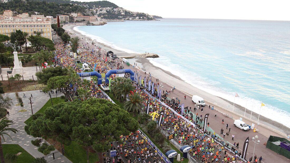 Marathon des Alpes-Maritimes Start Nizza 2013