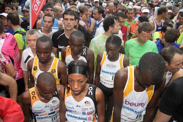 Marathon im Dreiländereck Laufasse