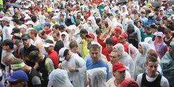 Marathon im Dreiländereck Startaufstellung