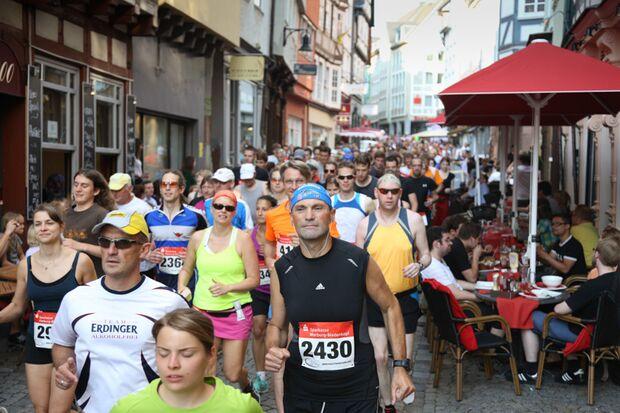 Marburger Nachtmarathon 2013