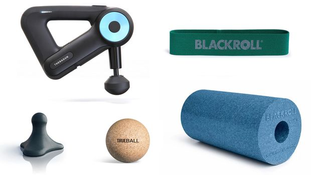 Massage- und Kräftigungs-Tools