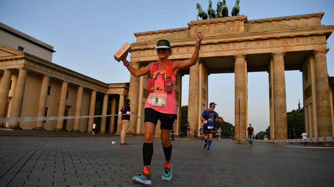 Mauerweglauf Berlin Frauensiegerin 2016: Tia Jones aus Australien