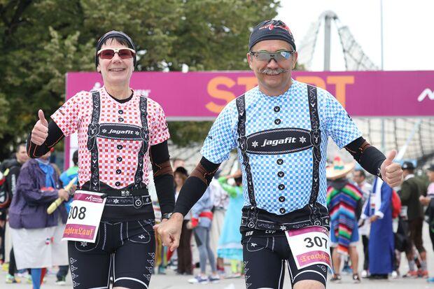 München-Marathon 2016 Trachtenlauf