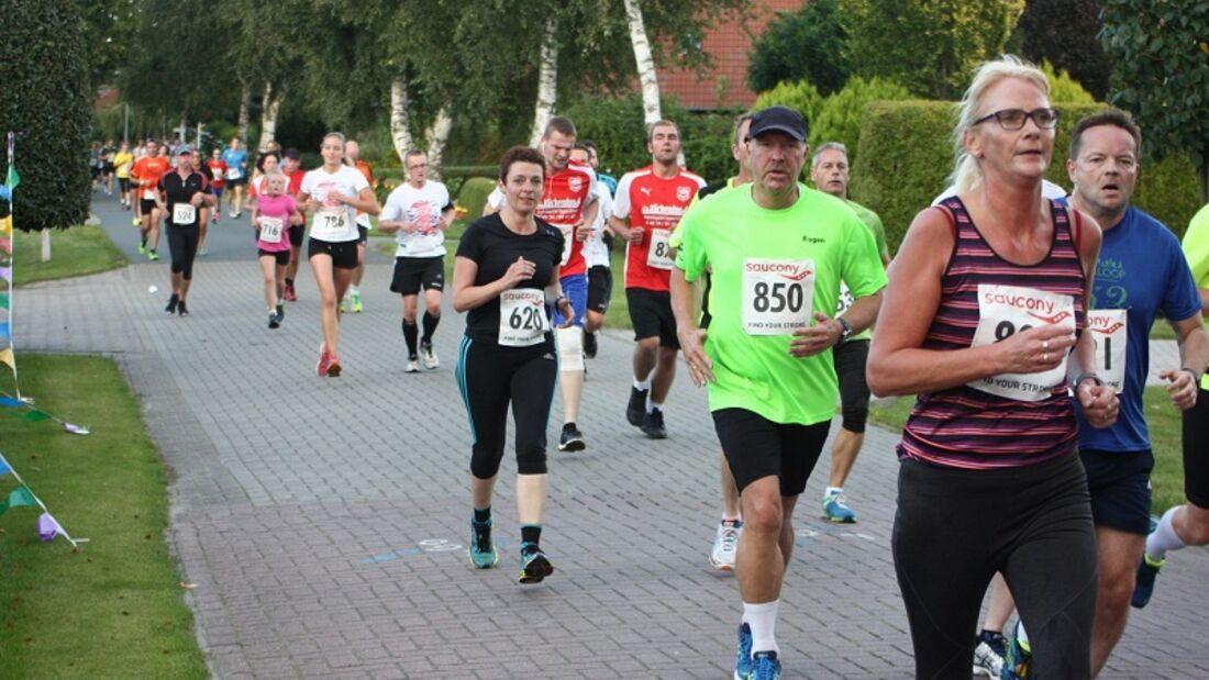Münkeboer Festtage-Lauf Südbrookmerland: 5 km Strecke