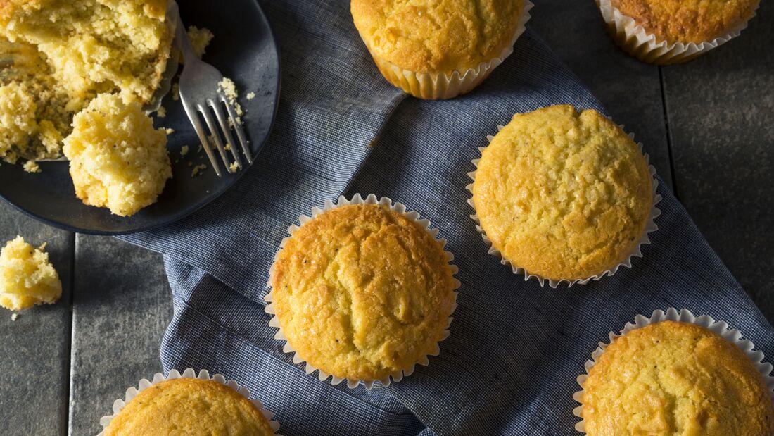 Muffins frisch aus dem Ofen