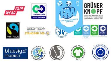 Nachhaltigkeitssiegel badge