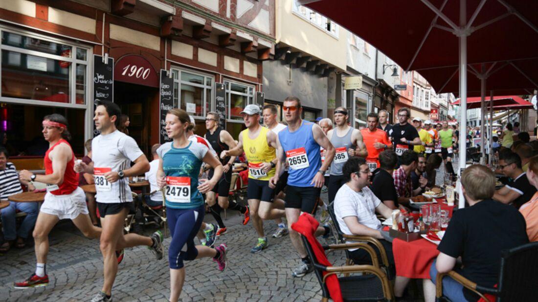 Nachtmarathon Marburg 2013