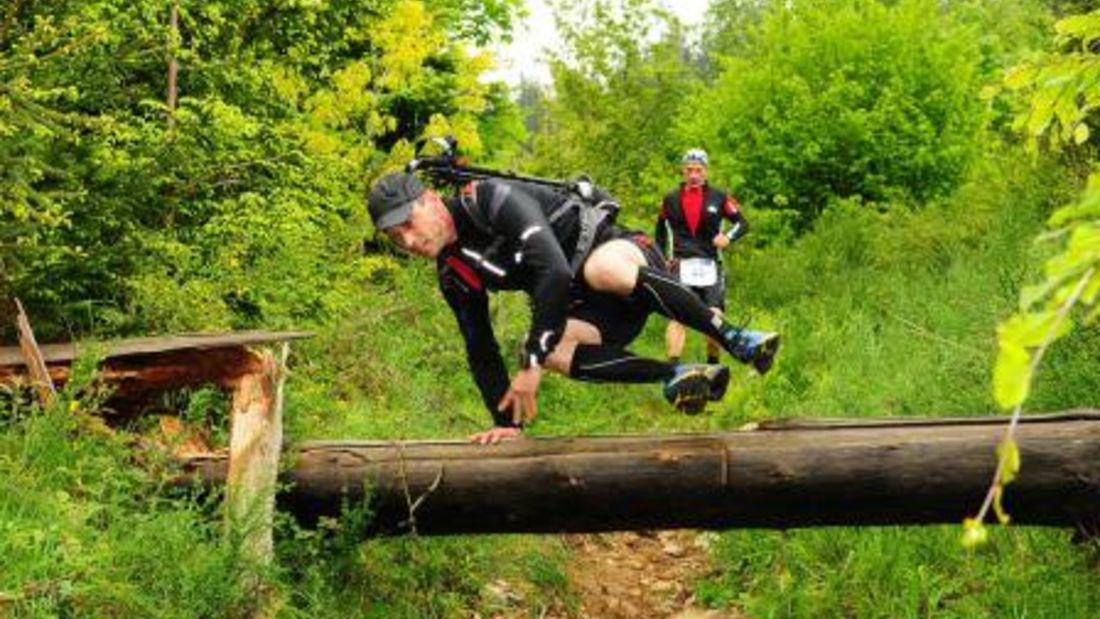 Naturbelassene Strecke beim Black-Forest Trail-Maniak in Simonswald