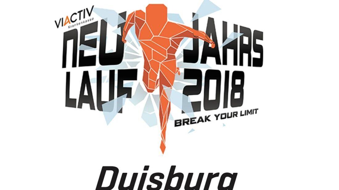 Neujahrslauf Duisburg