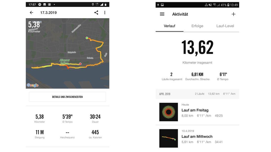 Nike Run Club App