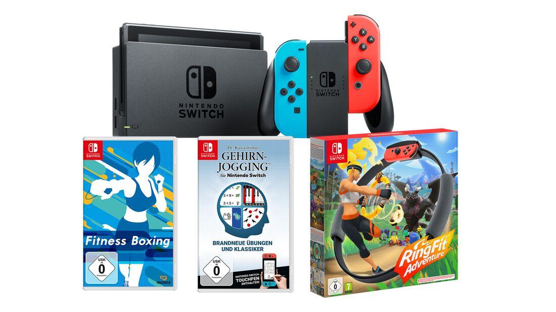 Nintendo Switch mit Spiele-Set