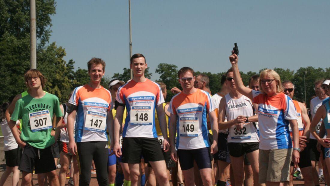 OSC-Lauf Duisburg: Das Team der Sparda-Bank