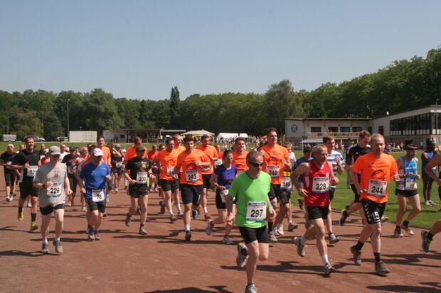 OSC-Lauf Duisburg: Start zum 10-km-Lauf
