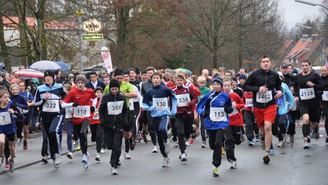 OTB Silvesterlauf Osnabrück Start 1