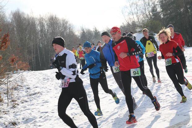 Oberpfälzer Winterlauf Challenge 2015
