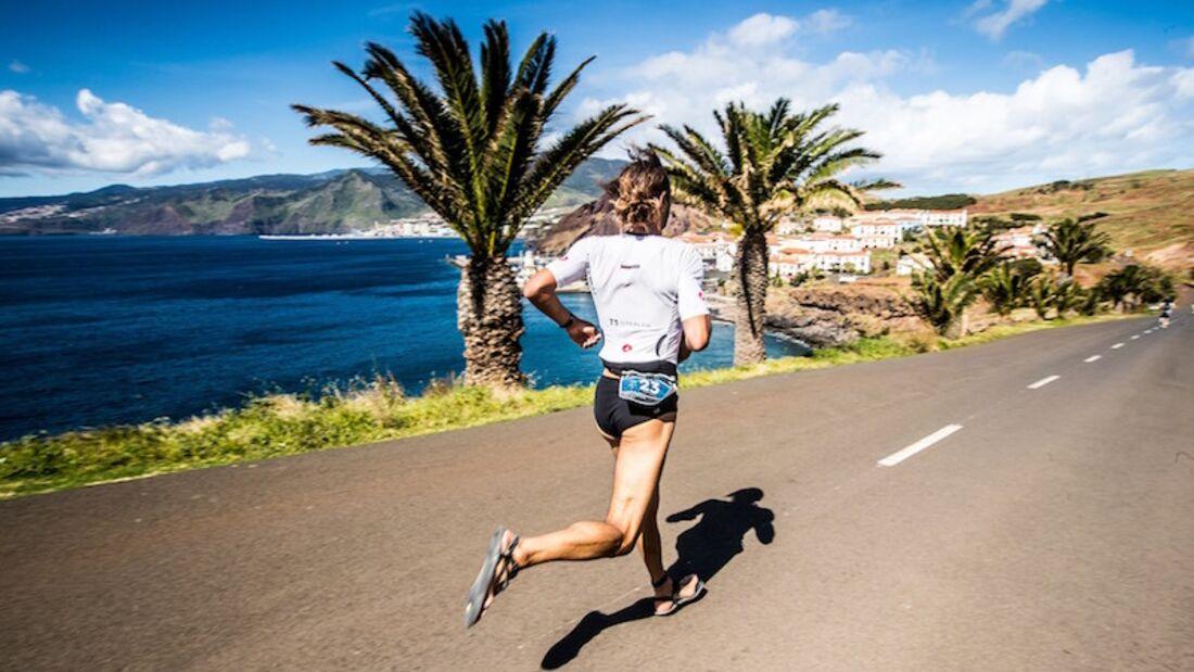 Ocean Lava Madeira Triathlon 2017 Laufen
