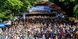 Österreichischen Frauenlauf in Wien 2018 Start