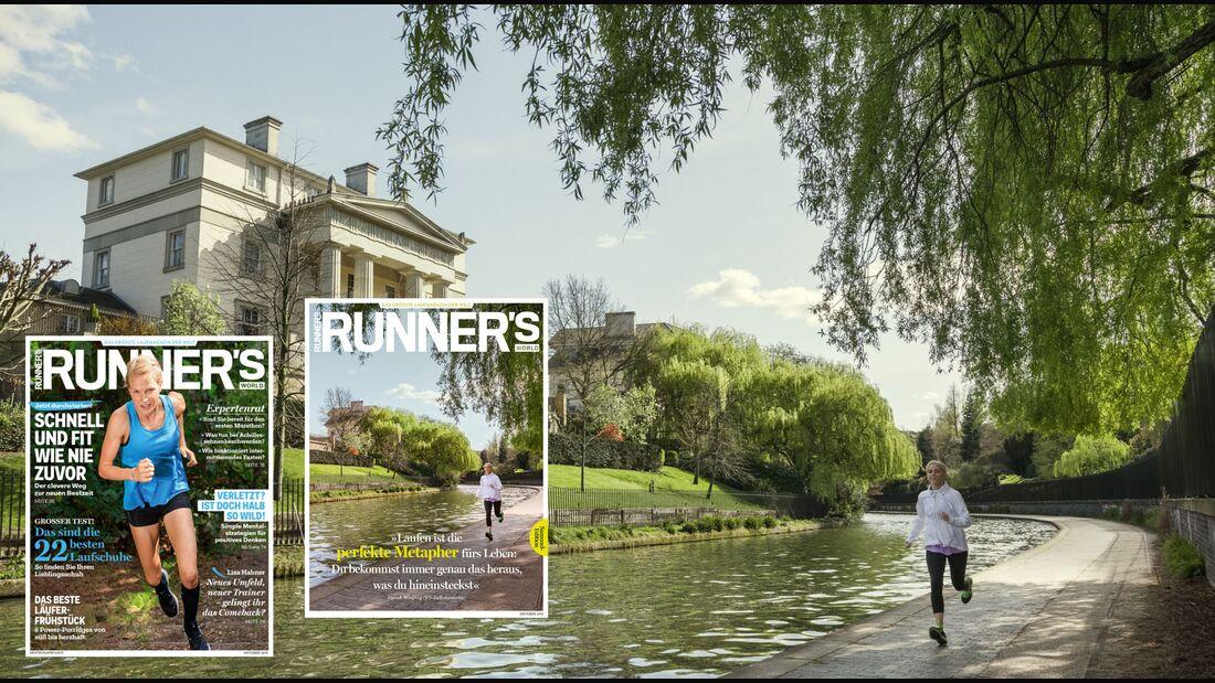 Oktober-Ausgabe RUNNER'S WORLD
