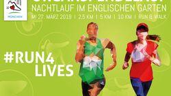 Organspendelauf in München Plakat 2019