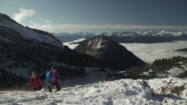 Original Mountain Marathon 2017 Schnee