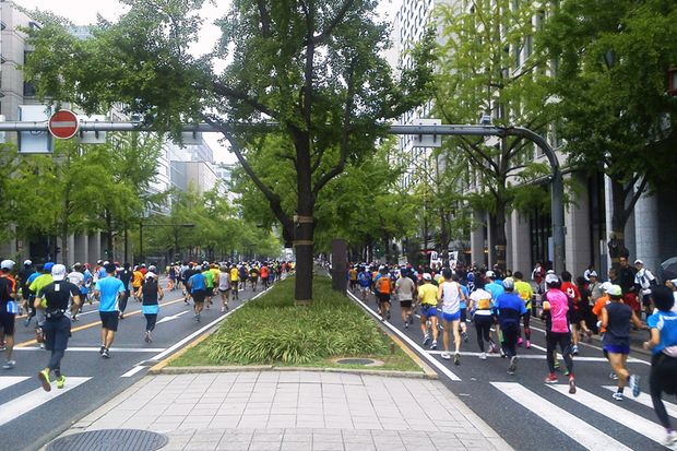 Osaka-Marathon 2012 Vorankündigung