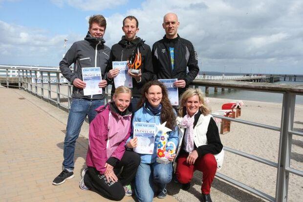Ostseelauf Timmendorfer Strand: Mannschaftssieger im Halbmarathon