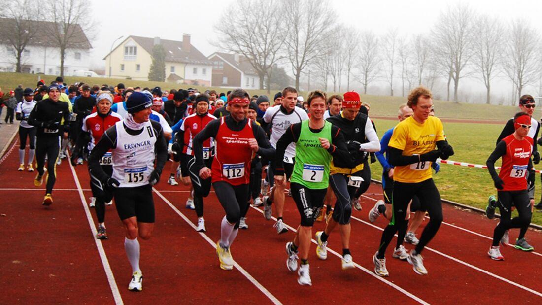Ottobeurer Halbmarathon Start